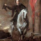 Anton Giulio Brignole-Sale à cheval.