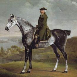 Joseph Symth et son cheval.