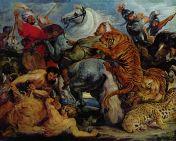 La Chasse au tigre.