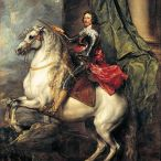 Portrait équestre du Prince Tomas de Savoie-Carignan.