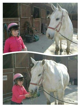 Clara, cavalière et handicapée | MarieNouvian