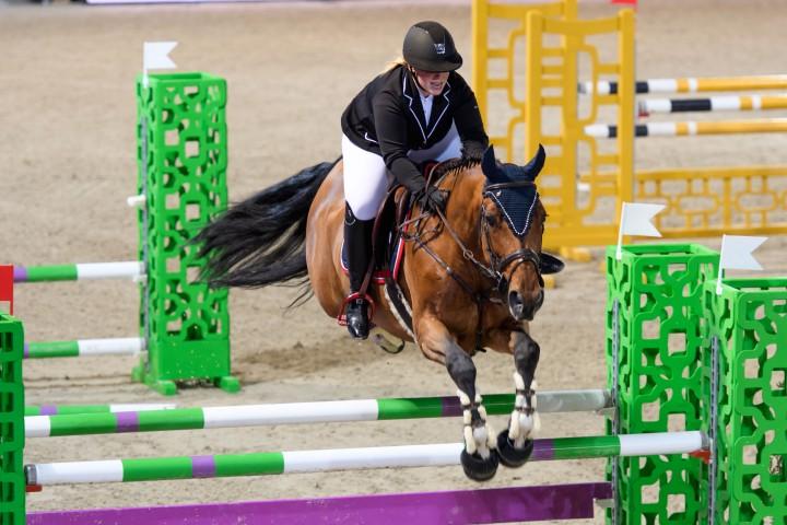 Le comportement du cheval de saut d'obstacles